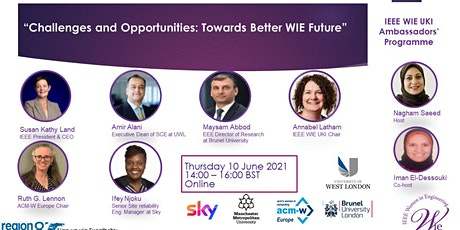 Challenges and Opportunities: Towards Better WIE Future entradas