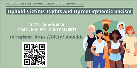 Uphold Victims' Rights and Uproot Systemic Racism tickets