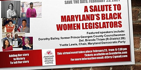 ENCORE PRESENTATON: A Salute to Maryland's Black Women Legislators tickets