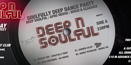 Soulfully Deep Festival - a day of Soulful  House, Disco Beats & Afro House tickets