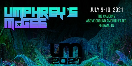 Umphrey's McGee at The Caverns Above Ground Amphitheater tickets