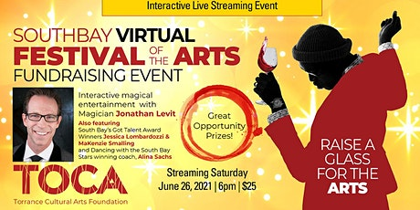 Virtual SouthBay Festival of the Arts tickets