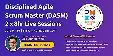 Disciplined Agile Scrum Master (DASM):  2 x 8hr Live Sessions ingressos