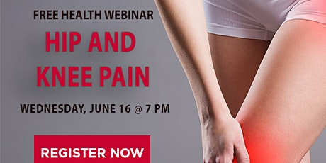 Hip & Knee Pain tickets