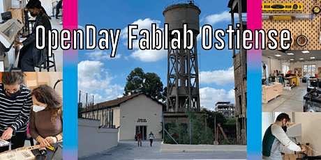 OpenDay Fablab Ostiense Maggio 2021 tickets