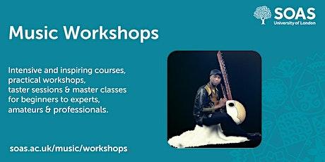 SOAS Summer Music Workshop: Kora tickets