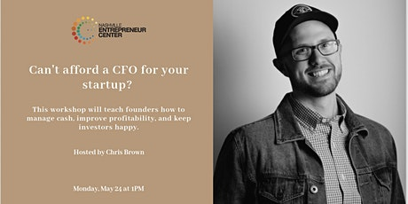 Can't afford a CFO for your startup? We can help. tickets
