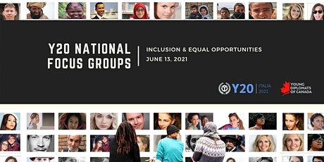 Y20 Focus Group Discussion - Inclusion & Equal Opportunities tickets