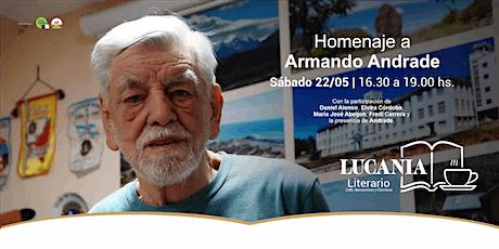 LUCANIA LITERARIO homenaje a Armando Andrade entradas