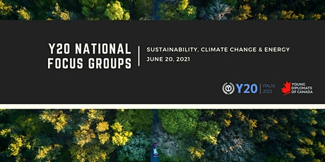 Y20 Focus Group Discussion - Sustainability, Climate Change & Energy tickets