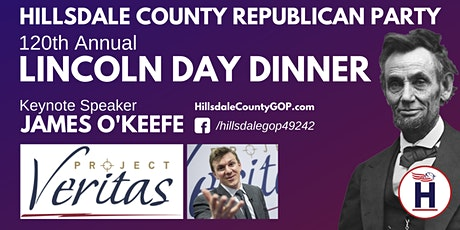 Hillsdale County Republican Party 120th Annual Lincoln Day Dinner tickets