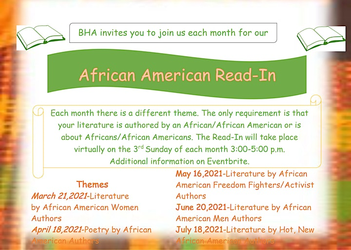 African American Read-In image