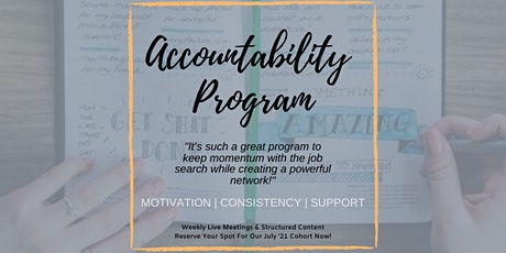 Career Accountability Program tickets