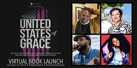 United States of Grace Virtual Book Launch tickets