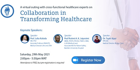 Collaboration in Transforming Healthcare tickets