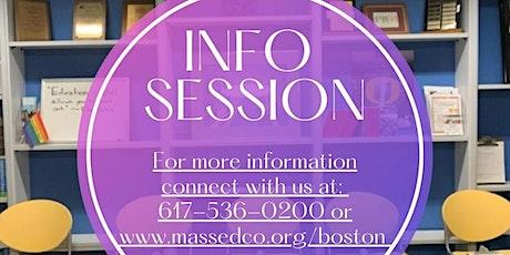 Education & Career Planning Program Info Session-Virtual tickets
