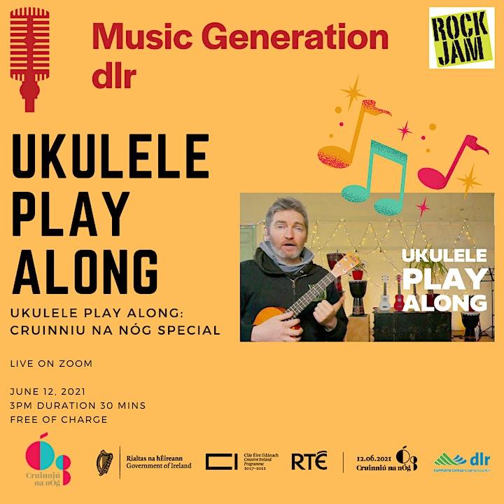 Music Generation dlr Ukulele Licence: Play Along! image