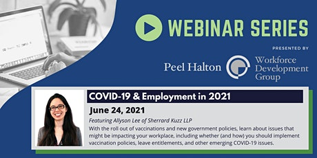 COVID-19 & Employment in 2021 tickets