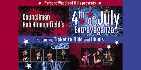 Councilman Bob Blumenfield's July 4th Fireworks Extravaganza tickets