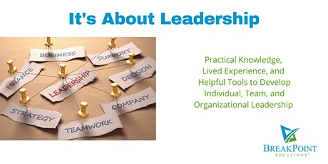 It's About Leadership tickets