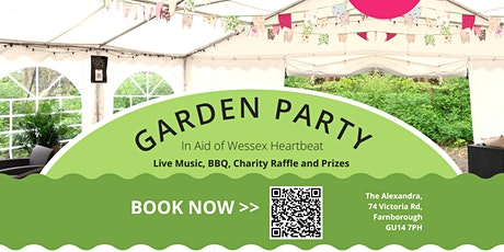 Garden Party in Aid of Wessex Heartbeat tickets
