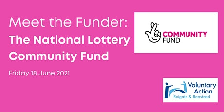 Meet The Funder - The National Lottery Community Fund tickets