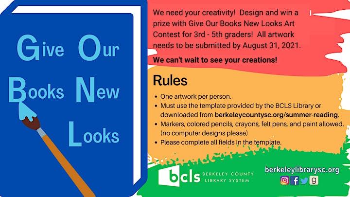 BCLS 2021 Summer Reading Program (Pre-registration begins June1) image