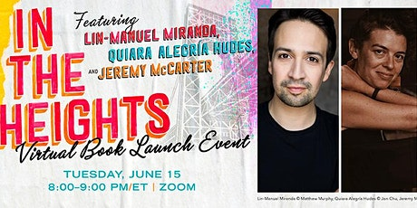 IN THE HEIGHTS virtual Book Launch Event tickets