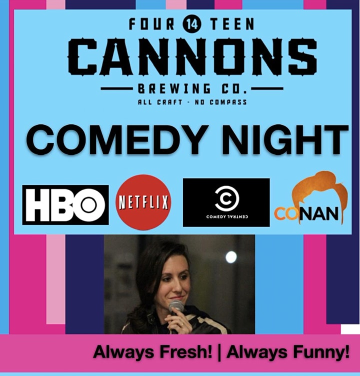 14 Cannons Comedy Night image