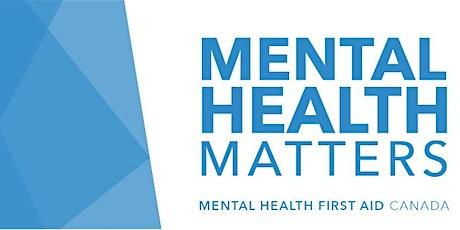 Mental Health First Aid Standard (Virtual) tickets