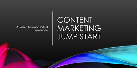 Content Marketing Jump Start tickets