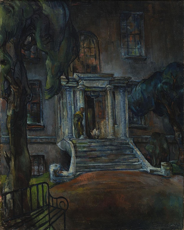Coffee Conversation: Sarah Purser on the Steps of Mespil House image