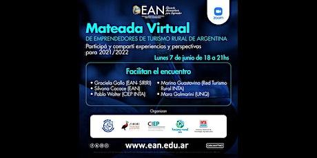 Mateada virtual de emprendedores de turismo rural de Argentina entradas