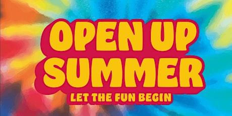 Open Up Summer Tie-Dye Extravaganza tickets