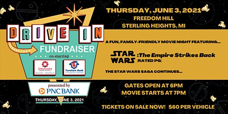 Star Wars Drive-In Movie Charity Event tickets