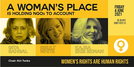 A Woman's Place is Holding NGOs to Account: Women's Rights are Human Rights tickets