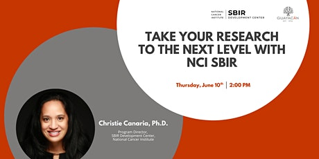 Take your research to the next level with NCI SBIR tickets