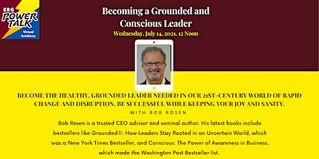 Becoming a Grounded and Conscious Leader tickets