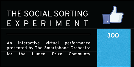 The Social Sorting Experiment by Smartphone Orchestra tickets