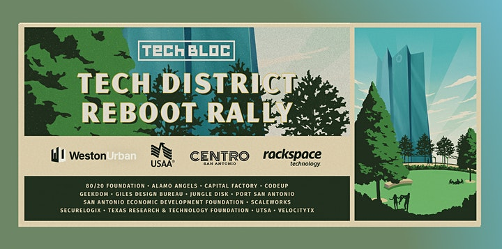 Tech District Reboot Rally image