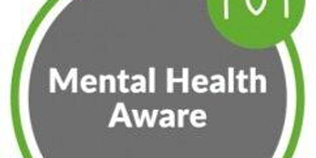 MHFA Mental Health Aware- Training for Frontline Professionals in Hackney tickets