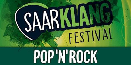 Saarklang Festival 2021: Rock-/Pop-Haupttag Tickets
