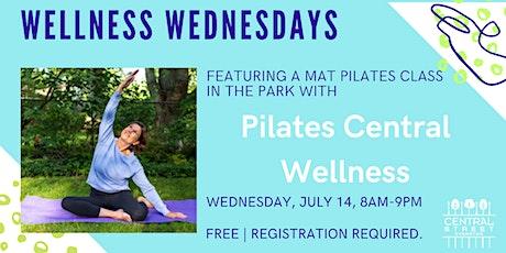 Wellness Wednesdays: Pilates Central Wellness tickets