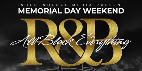 Memorial Day Weekend All Black Everything  Boat Cruise Featuring Big Bub tickets