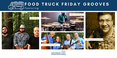 Food Truck Friday Grooves, June 2021 tickets
