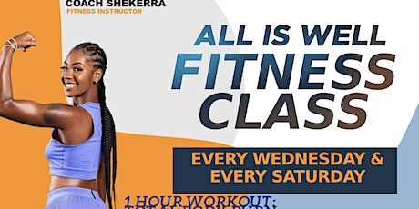 All is Well Fitness Group class tickets