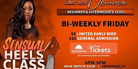 Dance With Deanna - Sensual Heels Friday tickets