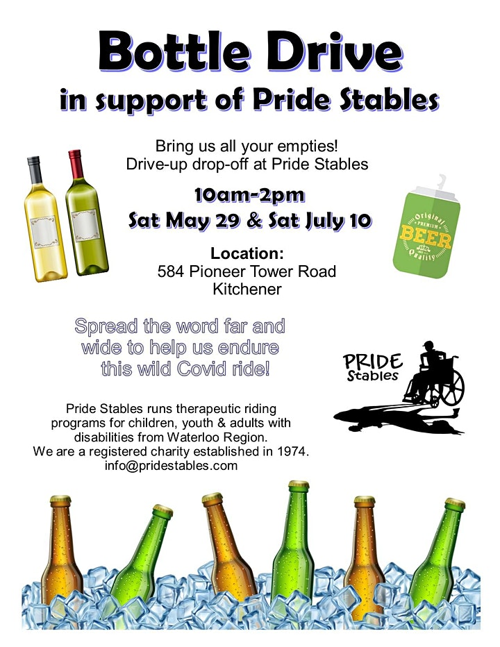 Bottle drive  for therapy horses (Contact-free) image