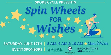 Spin Wheels for Wishes tickets