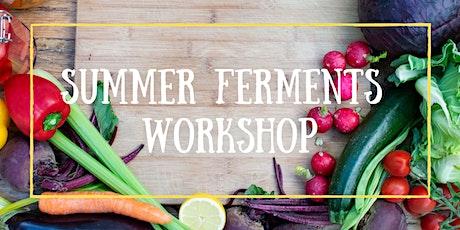 Summer Ferments Zoom Workshop tickets